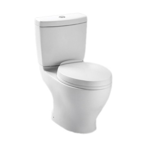 TOTO SS204#01 Contemporary SoftClose Oval Toilet Seat