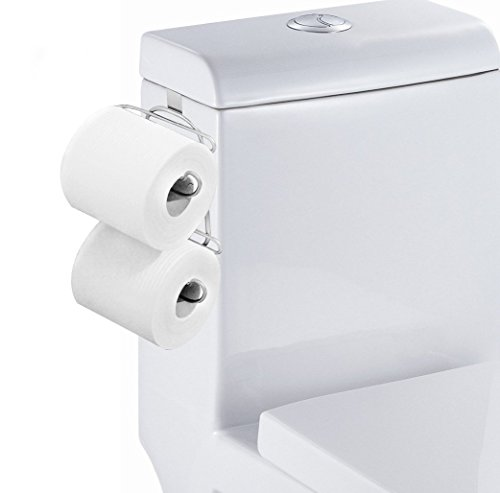 Universal Plastic Spring Loaded Toilet Paper Roll Holder Replacement ...