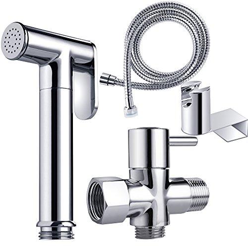 Reege Handheld Bidet Sprayer For Toilet Set Premium Brass Hand Bidet