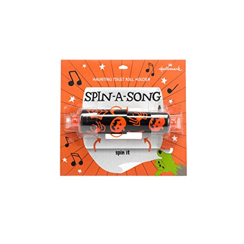 Hallmark Home Spin A Song Musical Toilet Paper Holder