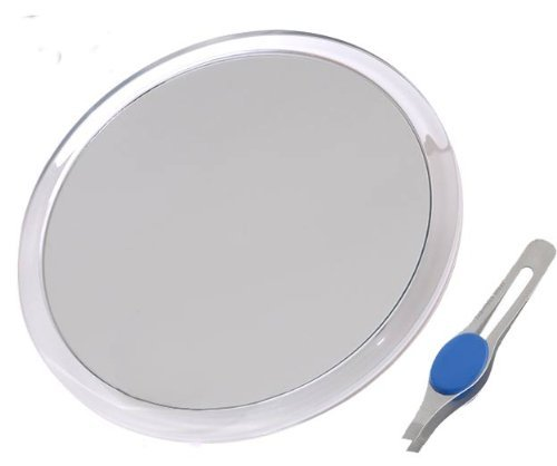 Tweezing And Blackhead Blemish Removal Round Mirror