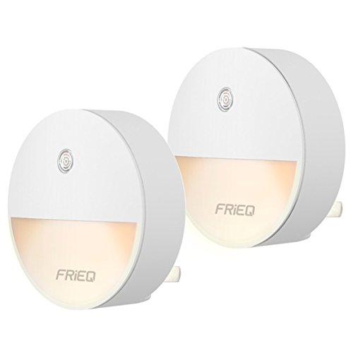 Frieq Led Plug In Night Light With Dusk To Dawn Sensor